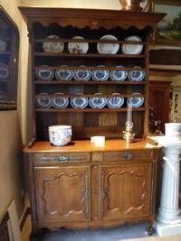 Au Mobilier Vendéen - vaisselier louisxv - Credenza Con Piattaia