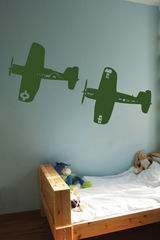 ApplePie Design - toyplane - Adesivo Decorativo Bambino