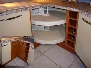 Ripiano girevole per angolare cucina