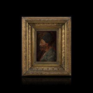 Expertissim - ecole du xixe siecle. portrait d'homme barbu - Ritratto