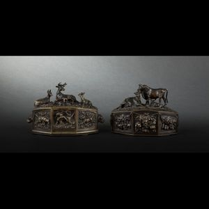 Expertissim - boîtes à bijoux en bronze par fratin - Scatolina Per Denti
