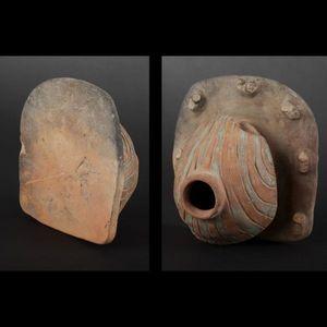 Expertissim - vase en forme de porc-épic. equateur, la tolita, m - Objetto Precolombiano