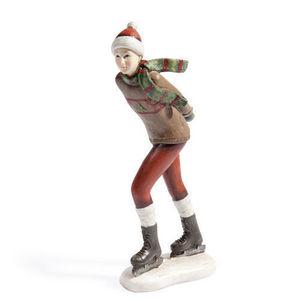 MAISONS DU MONDE - patineuse mégève - Figurina