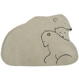 ART FOR KIDS - tapis famille ours - Tappeto Bambino