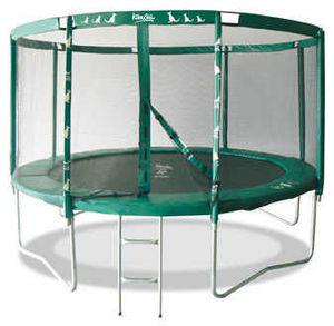 Kangui - trampoline famili 360 avec echelle - Trampolino Elastico