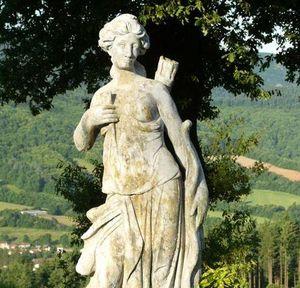 TERRES D'ALBINE - diane - Statua