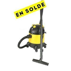 HARPER - aspirateur eau et poussière jaune et noir - Aspiratore Senza Sacco
