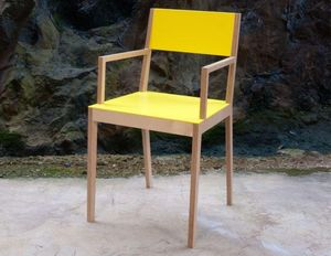 MALHERBE EDITION - chaise c3, avec accoudoirs - Sedia Ufficio