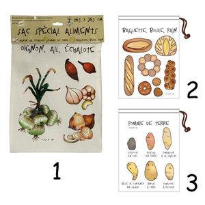 WHITE LABEL - sac de conservation spécial pains - Borsa Termica