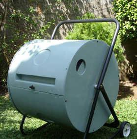 VIVRE BIO - aerateur de compost rotatif - Contenitore Compostaggio