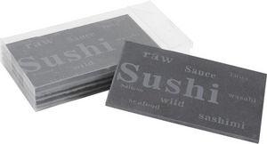 Aubry-Gaspard - 4 ardoises à sushis - Vassoio