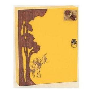 FAYE - boîte à clés safari - Armadietto Chiavi