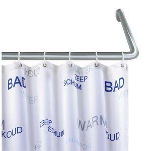 Asta angolare per tenda doccia