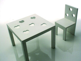CYRUS COMPANY - tavolino sagomine sedia sagomine - Tavolino Bambino