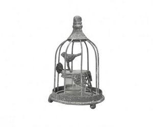 Demeure et Jardin - photophore cage oiseaux - Bicchiere Portacandela