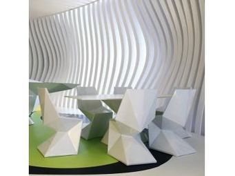 VONDOM - chaise vondom vertex, lumineuse - Sedia Da Giardino