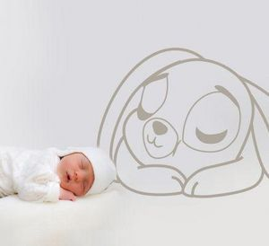 Acte Deco - sweet sleep rabbit - Adesivo Decorativo Bambino