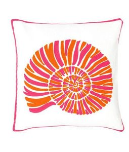 Dash and Albert -  nautilus fuchsia - Cuscino Quadrato