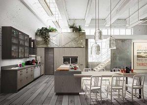 Snaidero - .loft-- - Cucina Componibile / Attrezzata