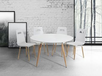 BELIANI - tables - Tavolo Da Pranzo Rotondo