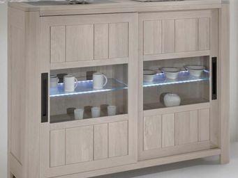 Ateliers De Langres - meuble d'appui deauvil - Credenza Alta