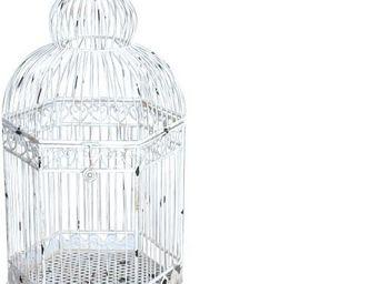 Demeure et Jardin - cage décorative a poser - Gabbia Per Uccelli