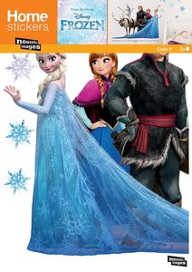 Nouvelles Images - sticker mural reine des neiges et ses amis - Adesivo Decorativo Bambino