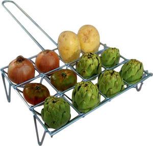 Belseher - grille à légumes pour barbecue - Scaldavivande