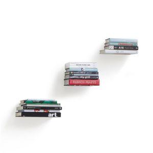 Umbra - étagère à livres invisible conceal (pack de 3) - Scaffale Pensile