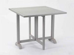 Amadeus - table à manger ouessant - gris - Tavolo Da Pranzo Quadrato