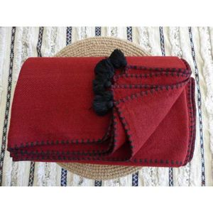 CHIC INTEMPOREL - couvmohrouge - Coperta