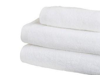 Liou - drap de bain xxl blanc - Asciugamano Grande