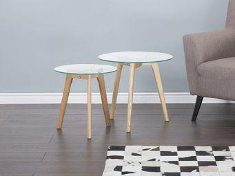 BELIANI - table d'appoint - Tavolini Sovrapponibili