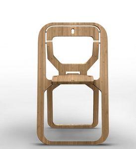 INFINE DESIGN OBJET - -natural bamboo - Sedia Pieghevole