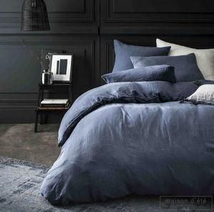 MAISON D'ETE - bleu nuit - Copripiumino