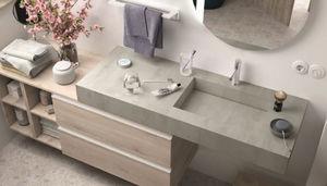 CasaLux Home Design - +vasque intégrée - Piano Toilette