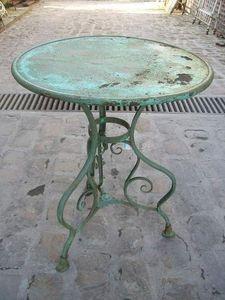 A LA BROCANTE A LA FERME -  - Tavolino Rotondo Per Esterni