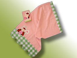 CréaFlo - serviette enfant cocci 3 ans et + - Asciugamano Grande Bambino