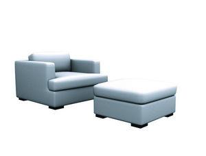 Tereza Prego Design - park sofa 1.00 + park puff - Rialzo Per Seduta Divano
