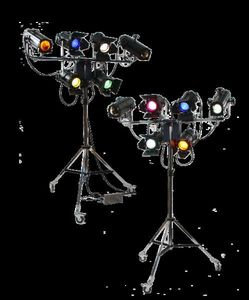 Ajs Theatre Lighting & Stage Supplies - ajs complete system - Spot Industriale