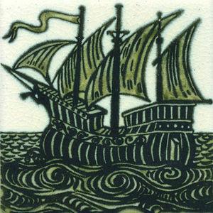 Kenneth Clark Ceramics - ship west - Piastrella Di Ceramica