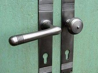 Replicata - haustürgarnitur 20er jahre modell rille - Maniglia Porta