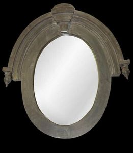 Hickory Manor House - 19th century window mirror - Specchio Oblò