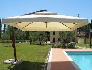 GARDENART - girasole iroko - Ombrellone Con Braccio Laterale