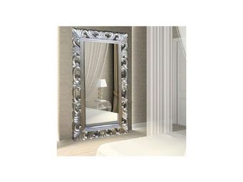 DECO PRIVE - téléviseur miroir 32 pouces bois argenté - Specchio