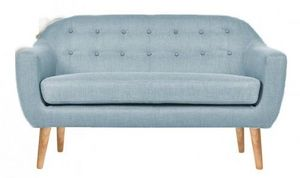 Demeure et Jardin - canapé design scandinave 50 bleu bjort - Divano 2 Posti
