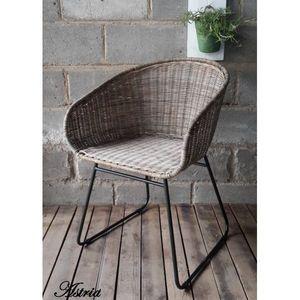 Mathi Design - fauteuil en rotin astrid - Poltrona