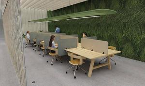 BUZZISPACE - desk-split-- - Pannello Divisorio Ufficio