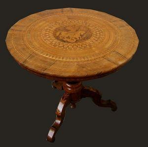 ARS ANTIQUA -  - Tavolo Da Pranzo Rotondo