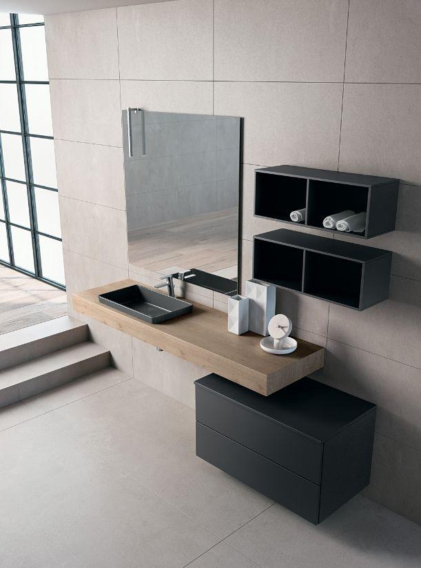 BLUES 2.07 - Mobile bagno - Nero - BMT | Decofinder